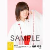 SKE48 2017年1月度 net shop限定個別生写真「巫女」5枚セット 高柳明音