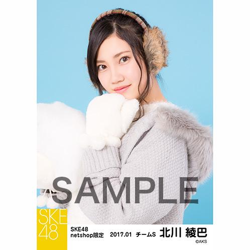 SKE48 2017年1月度 net shop限定個別ランダム生写真5枚セット 北川綾巴
