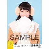 SKE48 2017年1月度 net shop限定個別ランダム生写真5枚セット 野島樺乃