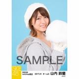 SKE48 2017年1月度 net shop限定個別ランダム生写真5枚セット 山内鈴蘭