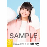 SKE48 2017年1月度 net shop限定個別ランダム生写真5枚セット 北野瑠華