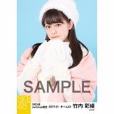 SKE48 2017年1月度 net shop限定個別ランダム生写真5枚セット 竹内彩姫