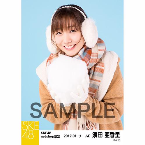 SKE48 2017年1月度 net shop限定個別ランダム生写真5枚セット 須田亜香里