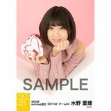 SKE48 2017年2月度 net shop限定個別生写真「バレンタイン」5枚セット 水野愛理