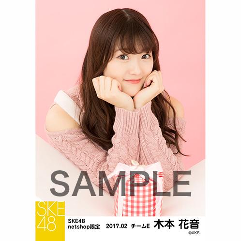 SKE48 2017年2月度 net shop限定個別生写真「バレンタイン」5枚セット 木本花音