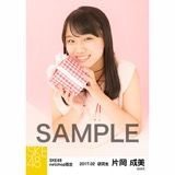 SKE48 2017年2月度 net shop限定個別生写真「バレンタイン」5枚セット 片岡成美