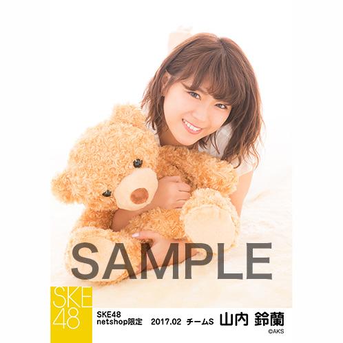 SKE48 2017年2月度 net shop限定個別ランダム生写真5枚セット 山内鈴蘭