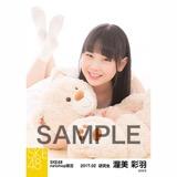 SKE48 2017年2月度 net shop限定個別ランダム生写真5枚セット 渥美彩羽
