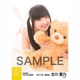 SKE48 2017年2月度 net shop限定個別ランダム生写真5枚セット 北川愛乃
