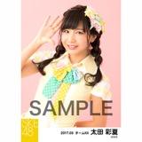 SKE48 2017年3月度 個別生写真「ストライプワンピース」衣装5枚セット 太田彩夏