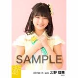 SKE48 2017年3月度 個別生写真「ストライプワンピース」衣装5枚セット 北野瑠華