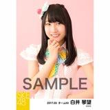 SKE48 2017年3月度 個別生写真「ストライプワンピース」衣装5枚セット 白井琴望