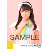 SKE48 2017年3月度 個別生写真「ストライプワンピース」衣装5枚セット 竹内彩姫