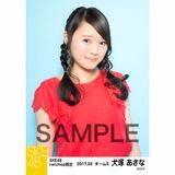 SKE48 2017年3月度 net shop限定個別生写真「赤い風船」5枚セット 犬塚あさな