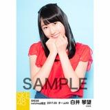 SKE48 2017年3月度 net shop限定個別生写真「赤い風船」5枚セット 白井琴望