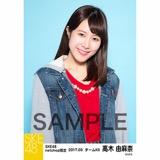 SKE48 2017年3月度 net shop限定個別生写真「赤い風船」5枚セット 高木由麻奈