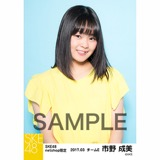 SKE48 2017年3月度 net shop限定個別生写真「赤い風船」5枚セット 市野成美