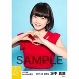 SKE48 2017年3月度 net shop限定個別生写真「赤い風船」5枚セット 坂本真凛