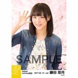 SKE48 2017年3月度 net shop限定個別生写真「さくら」5枚セット 鎌田菜月