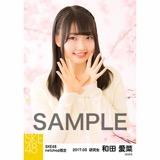 SKE48 2017年3月度 net shop限定個別生写真「さくら」5枚セット 和田愛菜