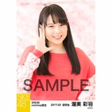 SKE48 2017年3月度 net shop限定個別生写真「さくら」5枚セット 渥美彩羽