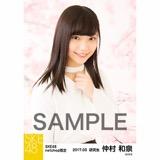 SKE48 2017年3月度 net shop限定個別生写真「さくら」5枚セット 仲村和泉