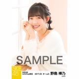SKE48 2017年3月度 net shop限定個別ランダム生写真5枚セット 野島樺乃