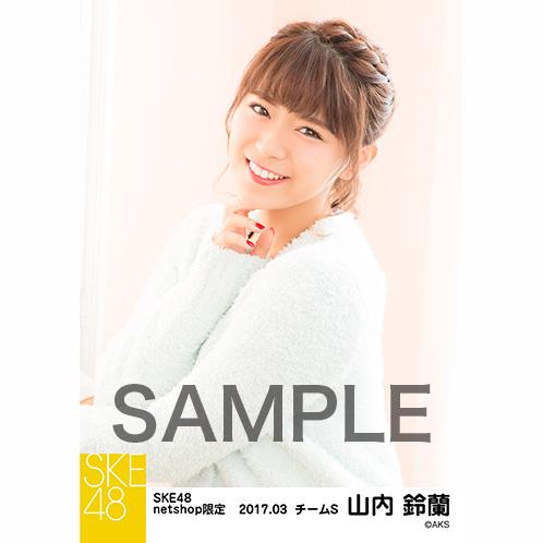 SKE48 2017年3月度 net shop限定個別ランダム生写真5枚セット 山内鈴蘭