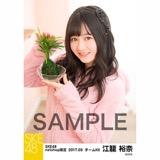 SKE48 2017年3月度 net shop限定個別ランダム生写真5枚セット 江籠裕奈