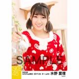 SKE48 2017年3月度 net shop限定個別ランダム生写真5枚セット 水野愛理