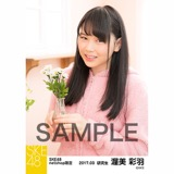 SKE48 2017年3月度 net shop限定個別ランダム生写真5枚セット 渥美彩羽