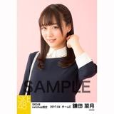 SKE48 2017年4月度 net shop限定個別生写真「入学式」5枚セット 鎌田菜月