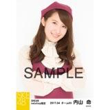 SKE48 2017年4月度 net shop限定個別生写真「はにかみロリーポップ」衣装5枚セット 内山命