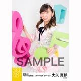 SKE48 2017年4月度 net shop限定個別ランダム生写真5枚セット 大矢真那