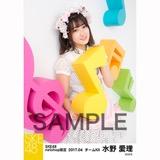 SKE48 2017年4月度 net shop限定個別ランダム生写真5枚セット 水野愛理