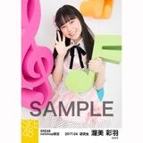 SKE48 2017年4月度 net shop限定個別ランダム生写真5枚セット 渥美彩羽