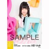 SKE48 2017年4月度 net shop限定個別ランダム生写真5枚セット 大芝りんか