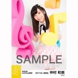 SKE48 2017年4月度 net shop限定個別ランダム生写真5枚セット 仲村和泉