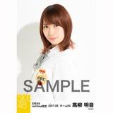 SKE48 2017年5月度 net shop限定個別生写真「コスモスの記憶」衣装5枚セット 高柳明音
