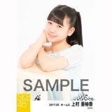 SKE48 2017年5月度 個別生写真「オフショル スプリング」5枚セット 上村亜柚香