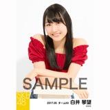 SKE48 2017年5月度 個別生写真「オフショル スプリング」5枚セット 白井琴望