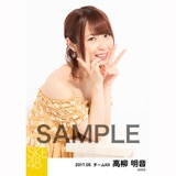 SKE48 2017年5月度 個別生写真「オフショル スプリング」5枚セット 高柳明音