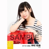 SKE48 2017年5月度 個別生写真「オフショル スプリング」5枚セット 仲村和泉