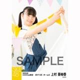 SKE48 2017年5月度 net shop限定個別ランダム生写真5枚セット 上村亜柚香