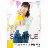 SKE48 2017年5月度 net shop限定個別ランダム生写真5枚セット 野島樺乃