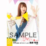 SKE48 2017年5月度 net shop限定個別ランダム生写真5枚セット 高柳明音