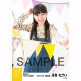 SKE48 2017年5月度 net shop限定個別ランダム生写真5枚セット 深井ねがい