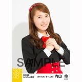 SKE48 2017年5月度 net shop限定個別生写真「青春は恥ずかしい」衣装5枚セット 内山命