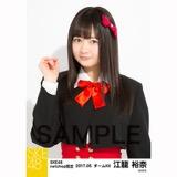 SKE48 2017年5月度 net shop限定個別生写真「青春は恥ずかしい」衣装5枚セット 江籠裕奈