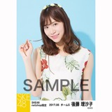 SKE48 2017年6月度 net shop限定個別生写真「かりゆし」衣装5枚セット 後藤理沙子